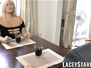 LACEYSTARR - nastiest grannie analled before cum-shot