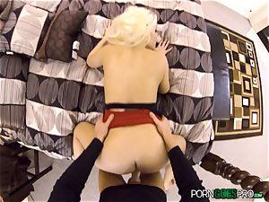 ultra-kinky ash-blonde stunner Britney Amber ravaged in her jummy vagina pie pudding