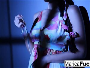 chinese pornographic star Marica gets nude