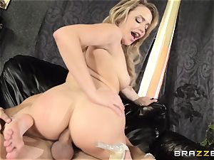 Mia Malkova gets her dancing ass ravaged to the ballsack