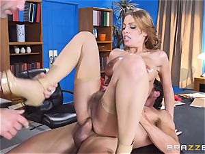 Britney Amber getting group banged