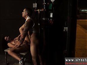 Public restrain bondage abasement petite, inked, and highly pretty, Gina Valentina is the kind