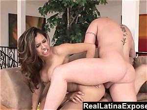 RealLatinaExposed Latina maid prefers a