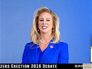 Cherie Deville takes a juggling ride in politics