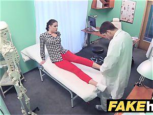 fake clinic medic prescribes gooey facial