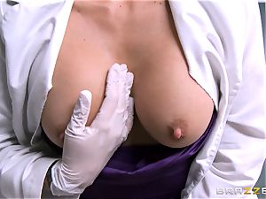delicious dentist Monique Alexander gargles patients humungous weenie