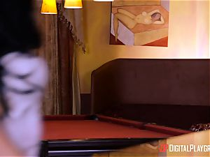 wonderful Gina Valentina pounded in her cute smallish cootchie