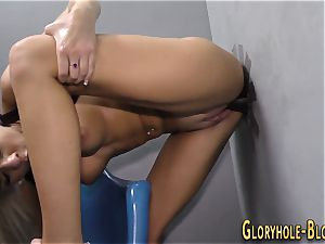cockslut gets internal ejaculation by big black cock