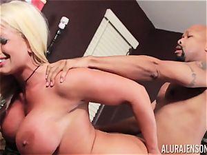 Alura Jenson slammered pouch deep and receives super-fucking-hot super-fucking-hot internal cumshot