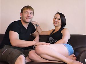 SEXTAPE GERMANY - crazy newcummer German couple pulverizes pov