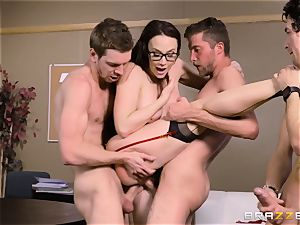 Chanel Preston pulverized in every hole