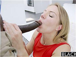 BLACKED Candice Dare rump boinked by yam-sized dark-hued fuckpole