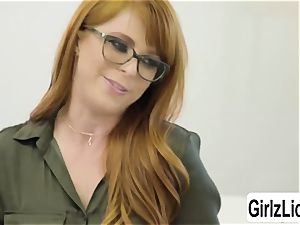 sizzling Therapist Penny Pax gets her coochie pulverized by client Whitney Wrights