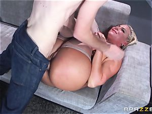 Phoenix Marie gets plumbed in the bum by yam-sized dicked Danny D