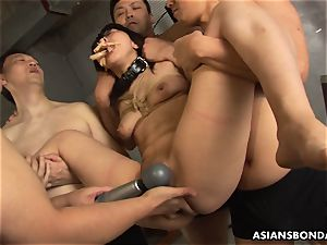 She never had a sadism & masochism session like this before