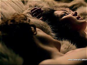 Caitriona Balfe in torrid romp vignette from Outlander