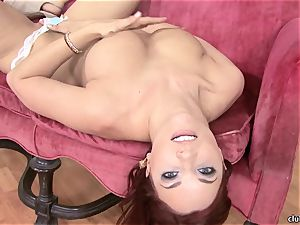 Jayden Cole whips out her appetizing obese tits