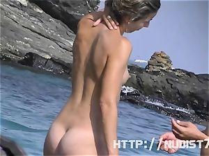 Some stunners on a naturist beach