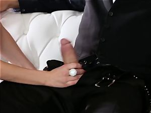 submissive boinks his manager Jaclyn Taylor while her hubby sleeps