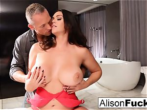 super-fucking-hot motel room tearing up with Alison and Marcus