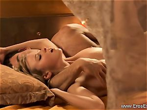 blonde anal invasion fucky-fucky With Indian weenie
