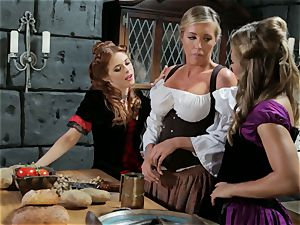 Samantha Saint Penny Pax Carter Cruise threesome