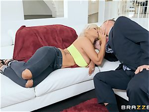 Bridgette B tearing up her spouses boss