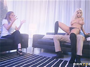 Bridgette B jammed in her cock-squeezing booty
