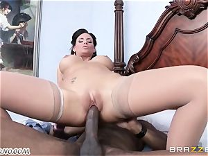 Phoenix Marie is prepared to take a huge dark-hued manmeat in her cunt