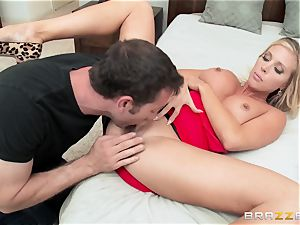 torrid wifey Samantha Saint porks her husbands brother