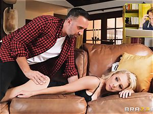 Alix Lynx anal invasion screwed by hung Keiran Lee