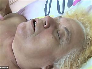 OldNanny grannie and mature wanked furry muff