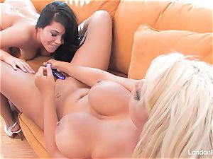 dame on girl activity with London Keyes and Bridgette B