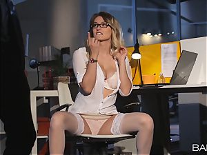 Natalia Starr smashed by the night security guard