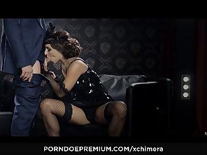 xCHIMERA - Amirah Adara creampied in fetish hookup gig